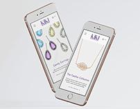 Kiki Website Design