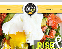 Sunny Side Up Cafe Branding and Website