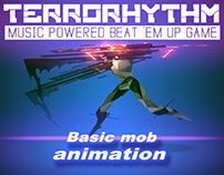 Mob animation and VFX for TERRORHYTHM game