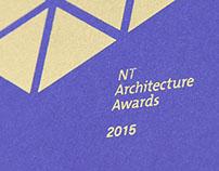 NT Architecture Awards 2015 Program