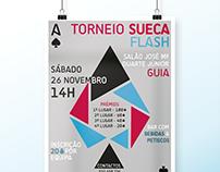 """Sueca"" Tournament // Poster"