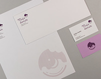 Mojo Donuts Stationery