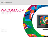 Wacom.com Content research and IA redesign