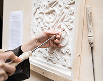 Culture Fusion Plasterwork Morocco-Craft in the City