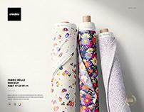 Fabric Rolls Mockup (17/FFv.11)