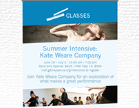 Summer Classes Promotion Sign