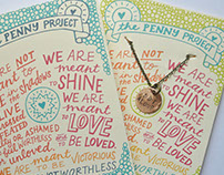The Penny Project - Hand-Lettered Package Design