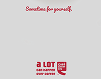 Print Ads for Cafe Coffee Day