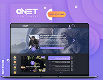 ONET Film Sequence - Movie Wordpress Theme
