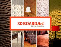 Newsletters para la marca 3DBoardArt - Láminas 3D