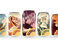 Package Design - SunUp Brewing Co.