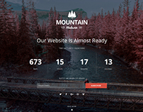 Mountain Responsive Coming Soon WordPress Plugin