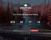 Mountain Responsive Coming Soon WordPress Plugin