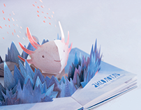 POP-UP Book Design: Barely Imagined Beings