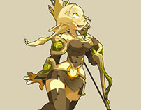 a copy of the illustration wakfu