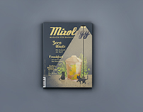 Mixology October issue cover illustration