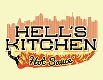 Hell's Kitchen Hot Sauce Labels