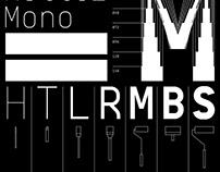 BB Manual Mono™ (Pro) – Typeface (2013/2017)
