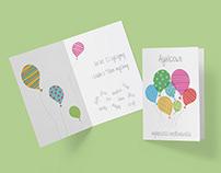 birthday card for Aga