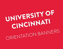 University of Cincinnati Banners Orientation 2015
