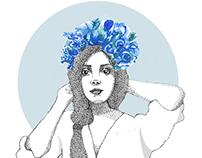 Illustrations 2018· Women & Crowns