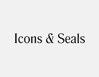 Icons + Seals