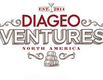 Diageo Ventures Logo Illustrations by Steven Noble