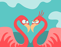 Легенда о фламинго| Story slider