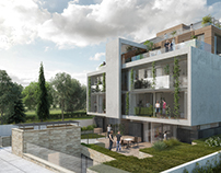 Luxury apartments in Schreiberweg street
