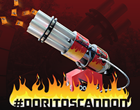 #DoritosCannon - Instagram activated chip cannon.