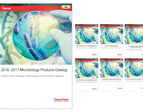 Thermo Fisher Scientific Catalogue Design