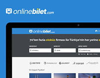 onlinebilet.com UI/UX Design