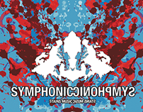 Symphonic CD cover with Rorschach theme