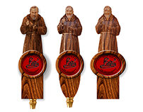 Four Saints Tap Handles