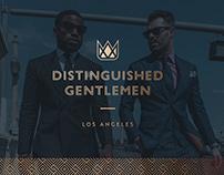Distinguished Gentlemen | Brand Identity