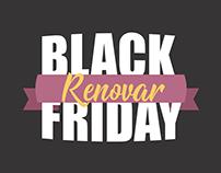 Campanha de Black Friday Renovar Cosméticos
