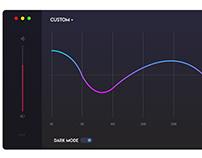 Equalier UI Design