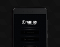 WIFI-K9 - Your Mobile VPN (UI/UX App Design)