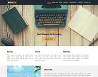 Kandeel Resume Web Site.