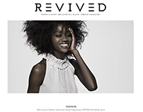 REVIVED Magazine Site Development, Copy, & Social Media
