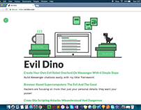 EvilDino, a blog