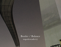 Border / Balance - cover & flyer