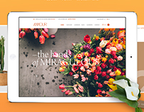 Amour - Flower Shop WordPress theme - Handmade