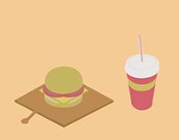 Hipster Burger