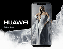 Huawei online store redesign concept