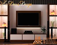 TV Stend Dizaynı.TV Stand Design 3D Specialist Xəqani Ə