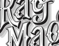 Ray of Magic Custom Logotype