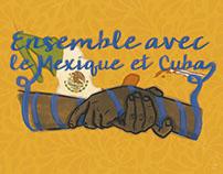 Ensemble avec le Mexique et Cuba
