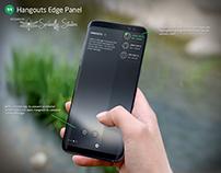 Hangouts Edge Panel - Samsung