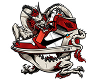 Air Jordan 1 Dragon